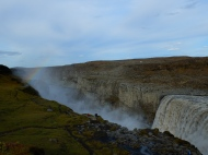 Dettifoss waterfall in northern Iceland