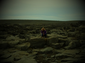 Everything around Dettifoss is crazy desolate