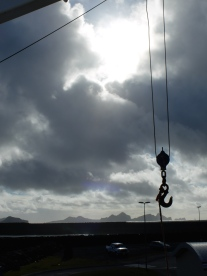 Then we waited at a port and got a last minute spot on the ferry to Vestmannaeyjar