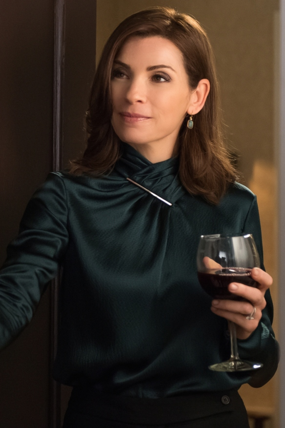 """Oppo Research"" -- When Alicia agrees to further explore the option of running for State's Attorney, Eli brings a respected campaign manager into the fold to help her decide once and for all, on THE GOOD WIFE, Sunday, Oct. 12 (9:00-10:00 PM, ET/PT), on the CBS Television Network.  Pictured Julianna Margulies as Alicia Florrick Photo: Jeff Neumann ©2014 CBS Broadcasting, Inc. All Rights Reserved"